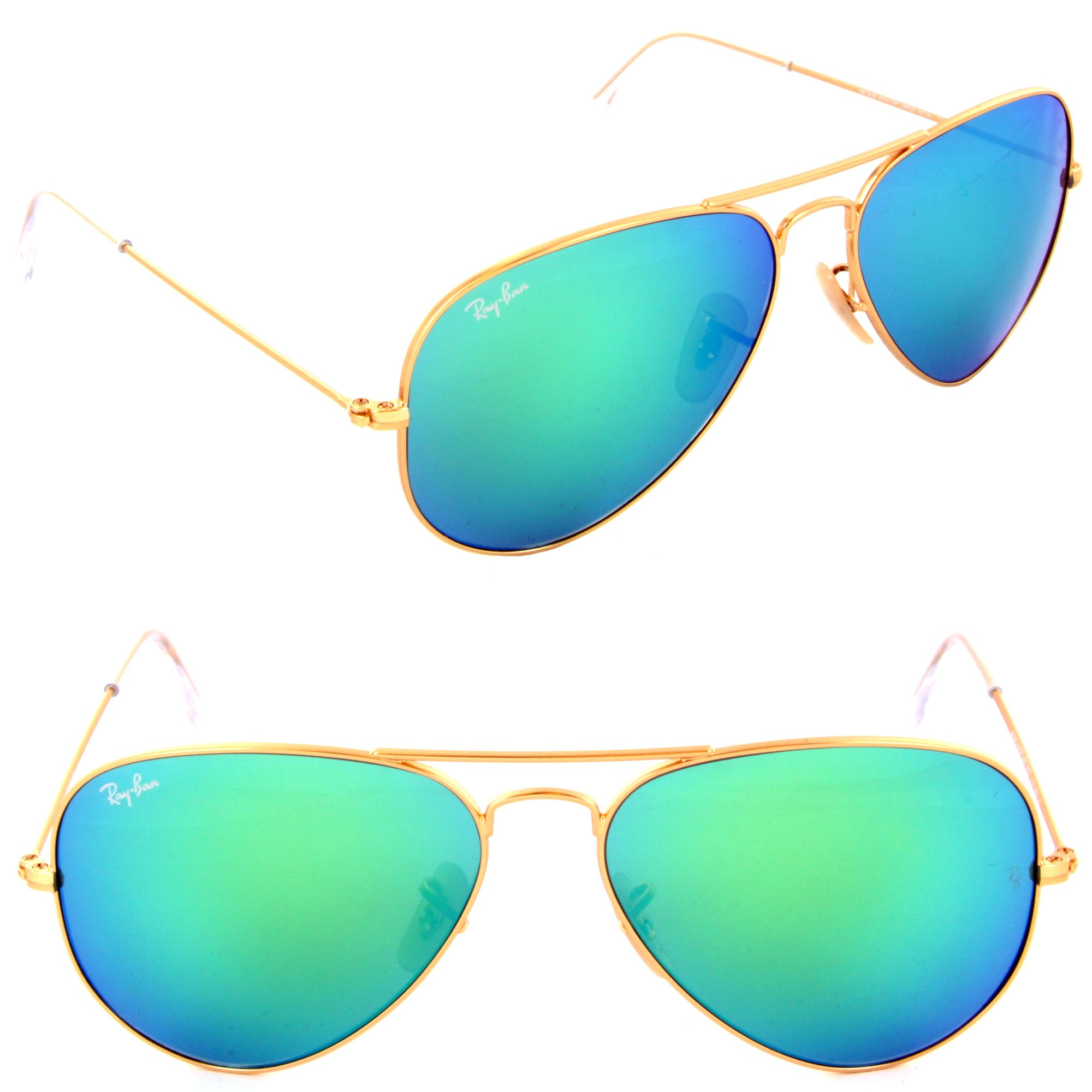 ray ban green gold aviators  Ray-Ban -- RB3025 Aviator Glasses -- $178.50 including lenses ...