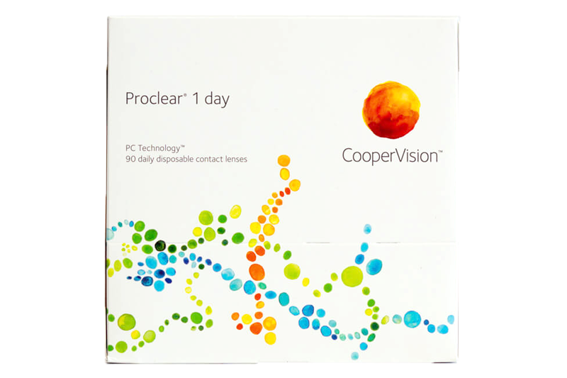 Proclear 1-Day 90 Pack Contact Lenses